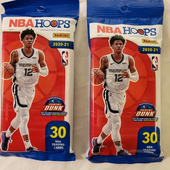 Panini NBA Hoops Basketball Cards 20-21